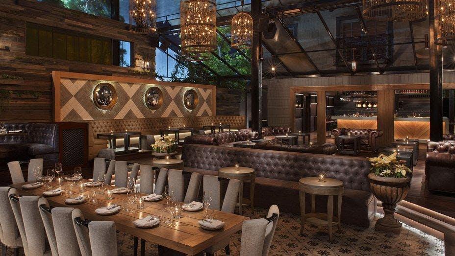 Sunday Brunch at Liaison Restaurant + Lounge