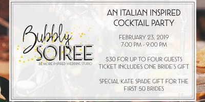 Be More Inspired 2019 Bubbly Soiree: Celebra il Tuo Amore