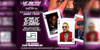 KING OF CLUBS - SILENT HEADPHONE PARTY ft AJ the DJ, DJ SKILLZ & DJ SMOOTH