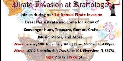 Pirate Invasion at Kraftologee