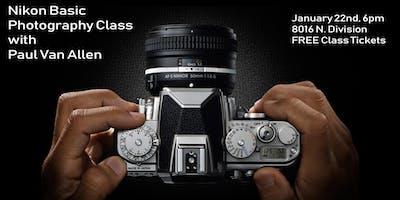 Nikon Basic Photography Class