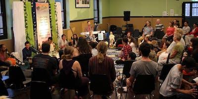 Newtown Mantra Music Meditation - LIVE Kirtan - Meditation of the Heart