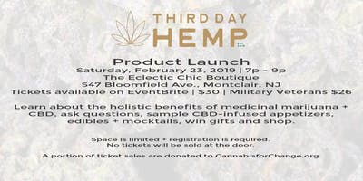 Third Day Hemp Product Launch