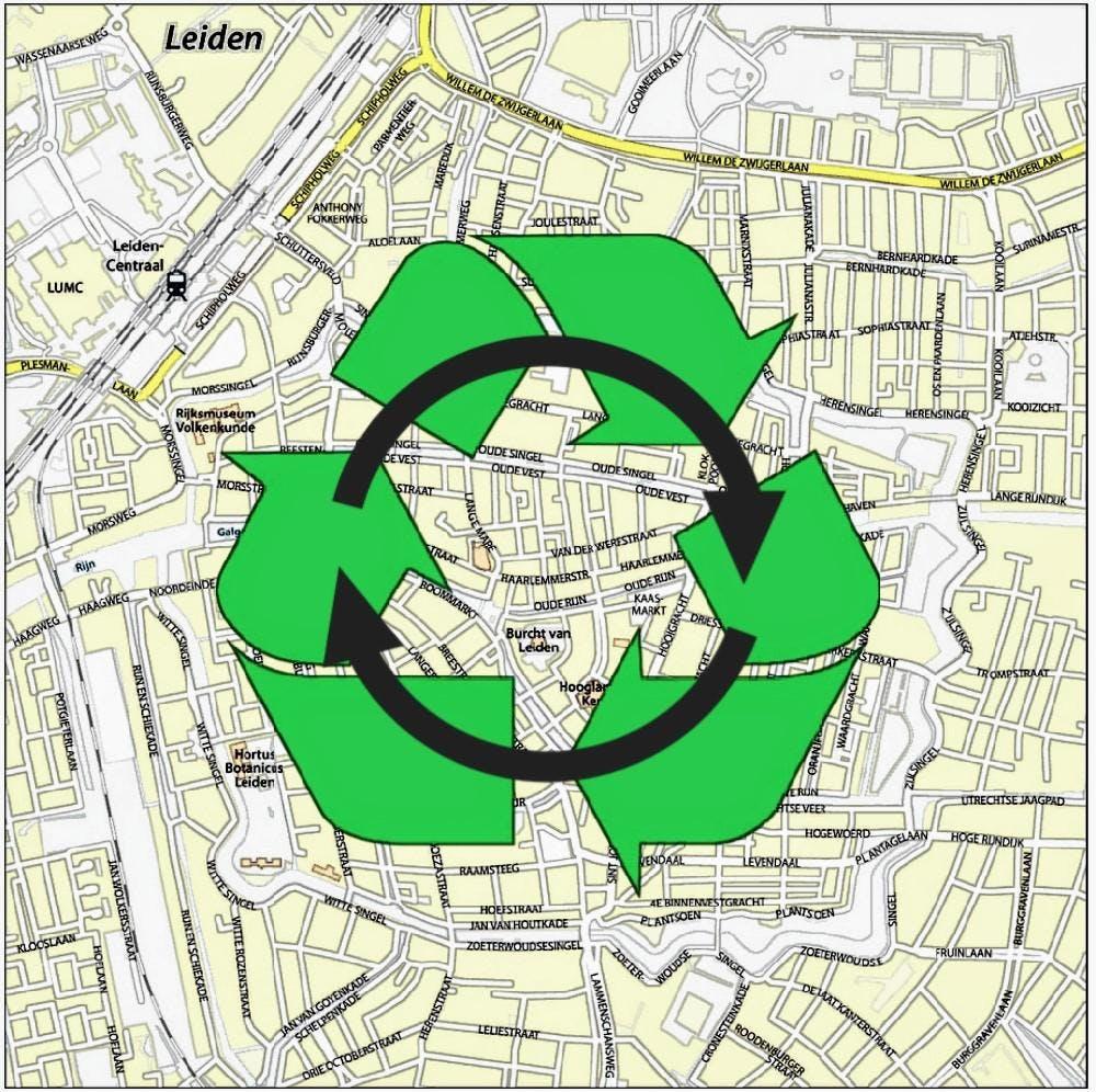 Zet #LeidenCirculair op de kaart!