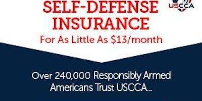 Gun Law Workshop & Self Defense Insurance Seminar for Gun Owners 6:00 P.M. to 8:00 P.M.