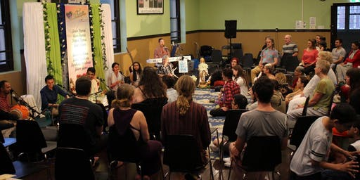 Newtown Mantra Music Meditation - LIVE Kirtan - Meditation of the Heart