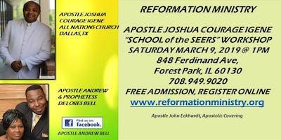 Apostle Joshua Courage Igene ''The School of The Seers''