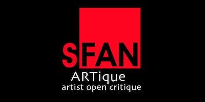 """""""ARTique"""" Artist Open Critique June 17th"""