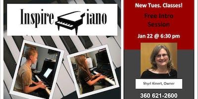 Inspire Piano- Free Info Session!