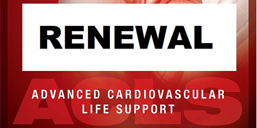 AHA ACLS Renewal March 13, 2020 (INCLUDES Provider Manual and FREE BLS!) from 9 AM to 3 PM at Saving American Hearts, Inc. 6165 Lehman Drive Suite 202 Colorado Springs, Colorado 80918.