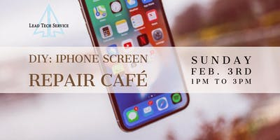 DIY iPhone Repair Class- Fix your own phone screen! Parts & tools provided!