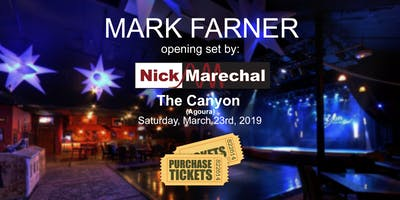Nick Marechal opening for Mark Farner