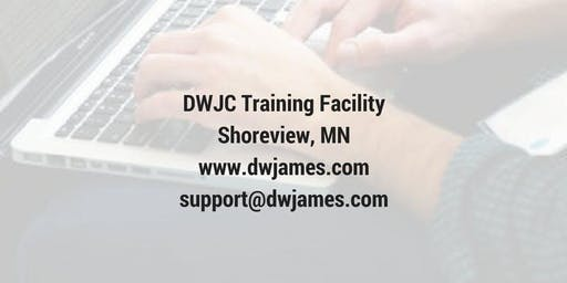 DOT training October 9, 10 2019