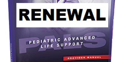 AHA PALS Renewal March 27, 2019 (INCLUDES Provider Manual and FREE BLS) from 9 AM to 3 PM at Saving American Hearts, Inc 6165 Lehman Drive Suite 202 Colorado Springs, CO 80918.