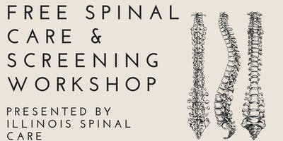 Free Spinal Care & Screening Workshop