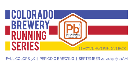 Fall Colors 5k - Periodic Brewing - Colorado Brewery Running Series tickets