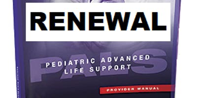 AHA PALS Renewal March 30, 2019 (INCLUDES Provider Manual and FREE BLS) from 9 AM to 3 PM at Saving American Hearts, Inc 6165 Lehman Drive Suite 202 Colorado Springs, CO 80918.