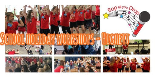 2019 July Bop till you Drop School Holiday Workshop - HIGHETT Performance Workshop for Children (2 days) BOOK EARLY AND SAVE!
