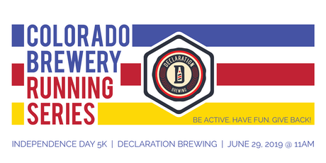 Independence Day 5k - Declaration Brewing - Colorado Brewery Running Series tickets