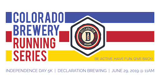 Independence Day 5k - Declaration Brewing - Colorado Brewery Running Series