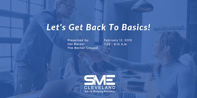 SME Cleveland Sales Workshop: Let\