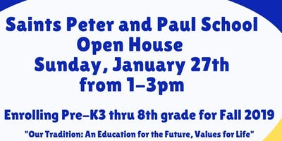 Saints Peter and Paul School Open House