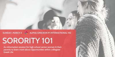Sorority 101 (2019 Information Session)