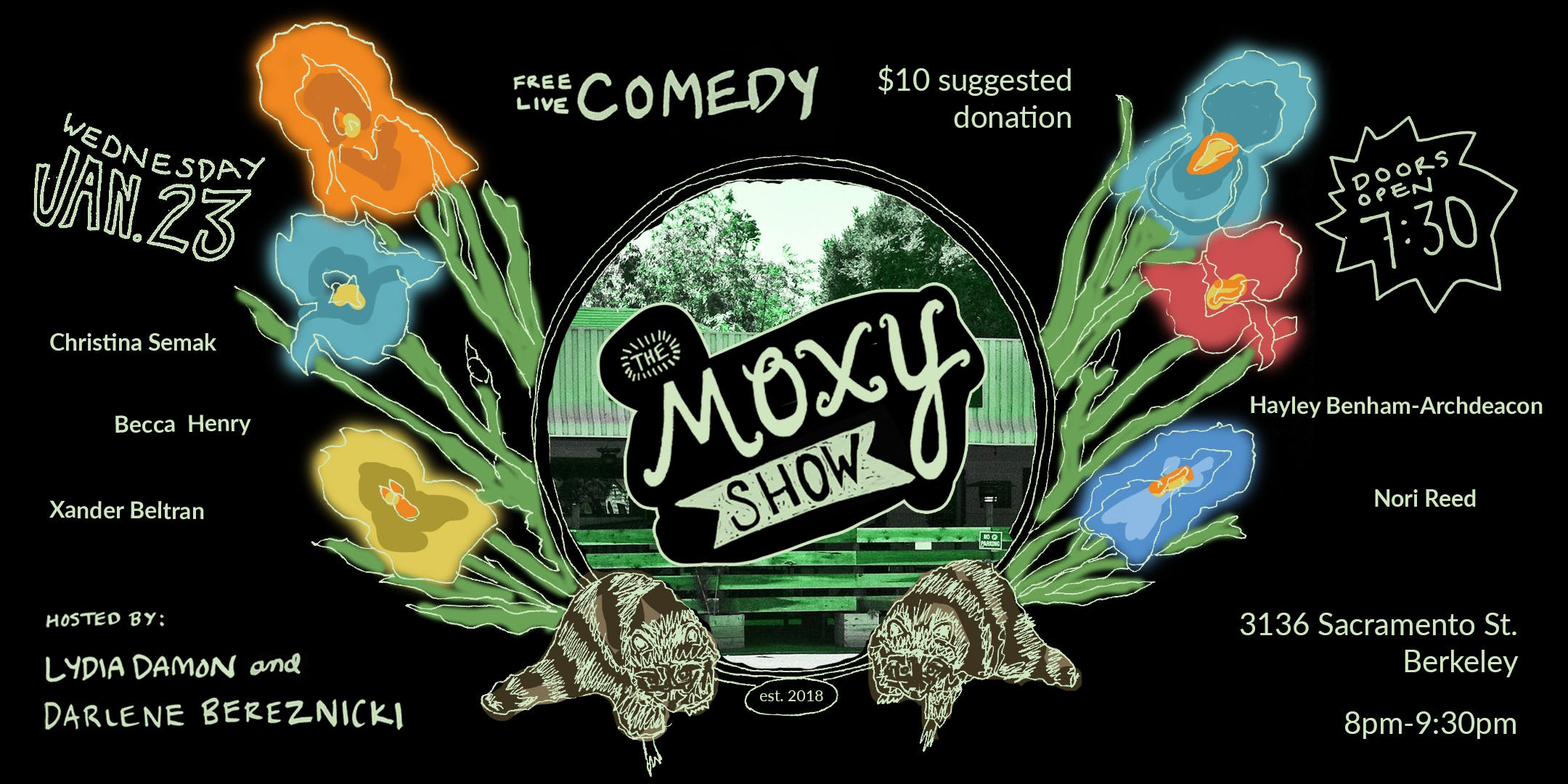 The Moxy Show: Free Live Comedy in Berkeley