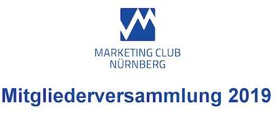 Mitgliederversammlung Marketing Club Nürnberg - MCN