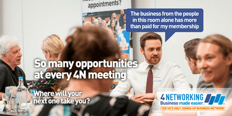 4Networking Leicester Lunch tickets