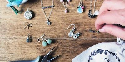 Beginners Jewellery Making Workshop, Craft Class Twickenham