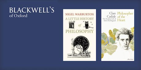 Philosophy in the Bookshop - Nigel Warburton and Clare Carlisle tickets