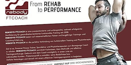Rebody FTCOACH - Aus- /Fortbildung für Trainer, Physiotherapeuten & Sport Tickets