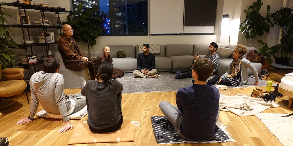 Queens Plaza Chan Meditation Workshops Free Open To Public