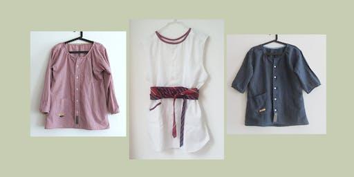 Workshop: Da camicia da uomo a Blusa