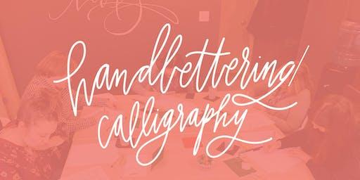 Hand Lettering Workshop at Lovely Somethings