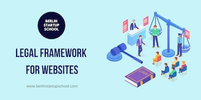 Legal framework for websites