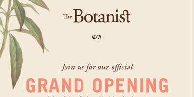 Massachusetts Grand Opening With The Botanist
