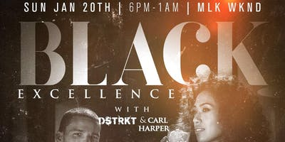 BLACK EXCELLENCE at SoBe Restaurant & Lounge | MLK Weekend