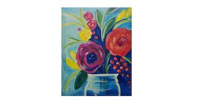Floral Arrangement | Paint 'n Sip | $25