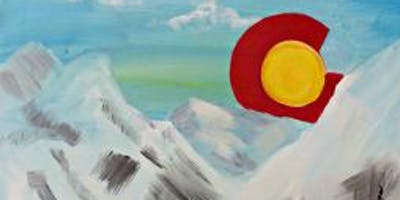 Paint Wine Denver CO Rising Sun Jan 27th 5:30pm $25