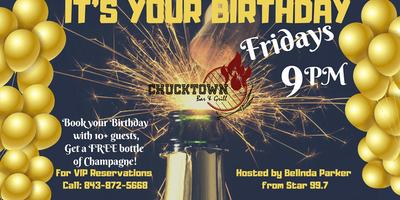It's Your Birthday Friday