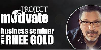 RHEE GOLD's | Project Motivate | NEX•US | SAN FRANCISCO