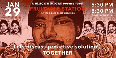 Fruitvale Station Screening & Panel Discussion on Humanity in Policing.