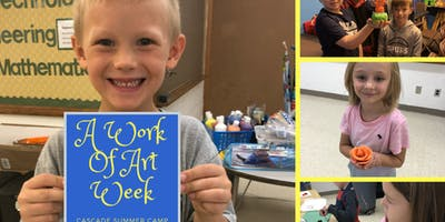 A Work of Art Summer Camp (ages 5-12)