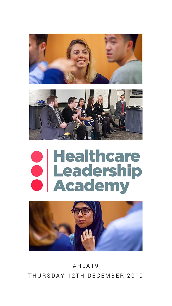 The Healthcare Leadership Academy Conference 2019 image