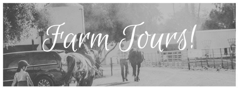 February Monthly Farm Tour!