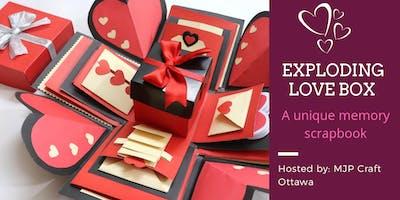 Exploding Love Box - Memory Scrapbook