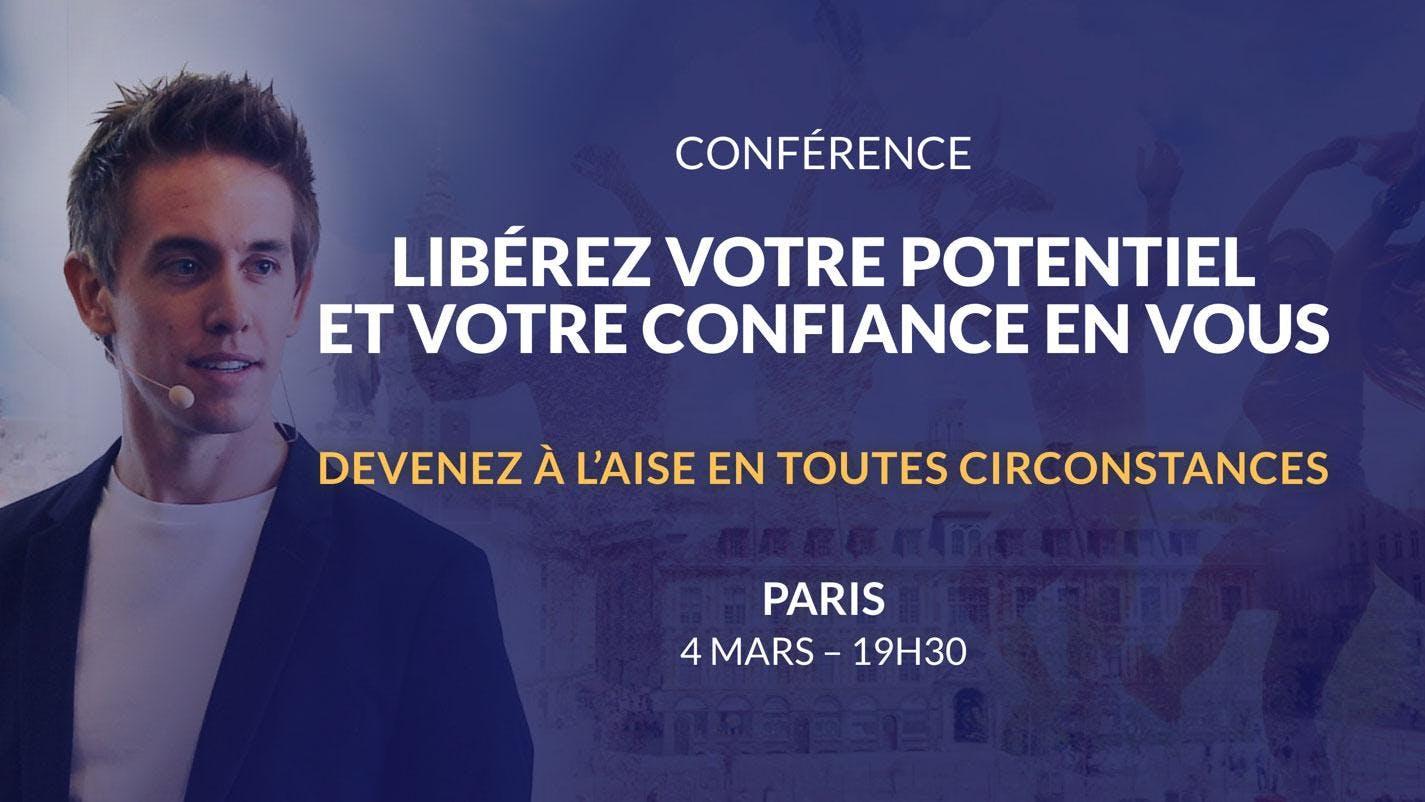 Paris 04/03/2019 - Conférence Libérez votre p