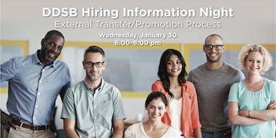 DDSB Hiring Information Night - Principal and Vice Principal